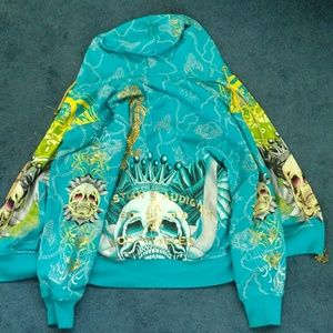 Excellent Used Conditon Ed Hardy Jacket